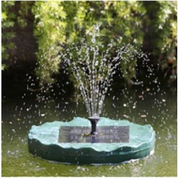 Solar Floating Lily Pump Kit: 1 unit/Package
