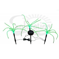 3 Wild Green Grass Solar String Lights: 1 unit/Package