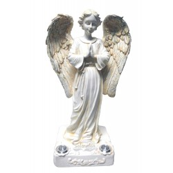"11"" Praying Angel Solar Figurine Lights: 6 units/Case"