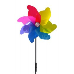Windmill Spinner Solar Garden Light: 1 unit/Package