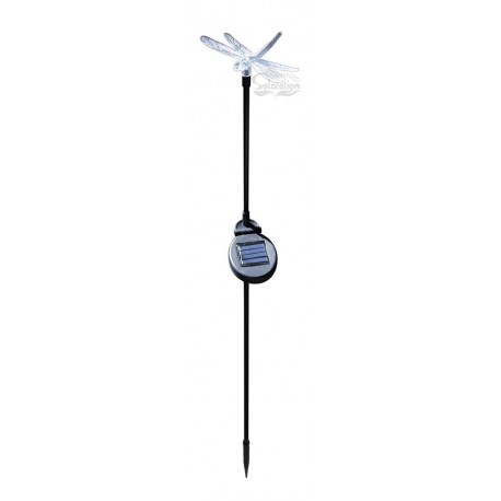 Dragonfly with Black Stake Solar Light: 1 unit/Package