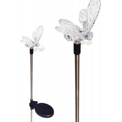 A pack of Two Bumble Bee Solar Garden Lights: 24 units/Case