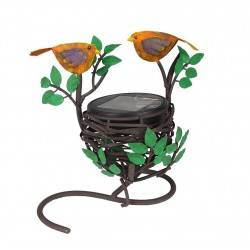Love Bird and Nest Solar Lights: 1 unit/Package