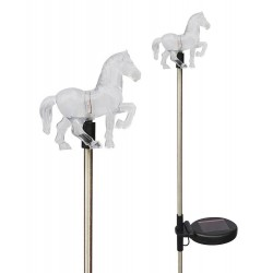 A pack of Two Farm Horse Solar Garden Lights: 24 units/Case