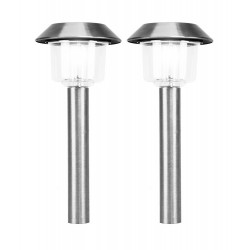 Stainless Steel Solar Path Light: 2 units/Package