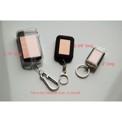 Caribiner Keychain LED Flashlight: 14 units/Case